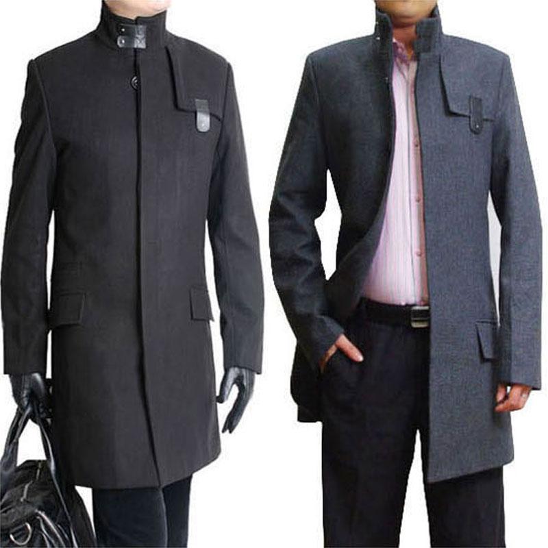 Mens Long Winter Coat Ebay