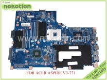 VA70 VG70 Mainboard rev 2.1 NBRYN11001 NB.RYN11.001 FOR ACER aspire V3-771 V3-771G Motherboard GeForce GT630M+HD4000