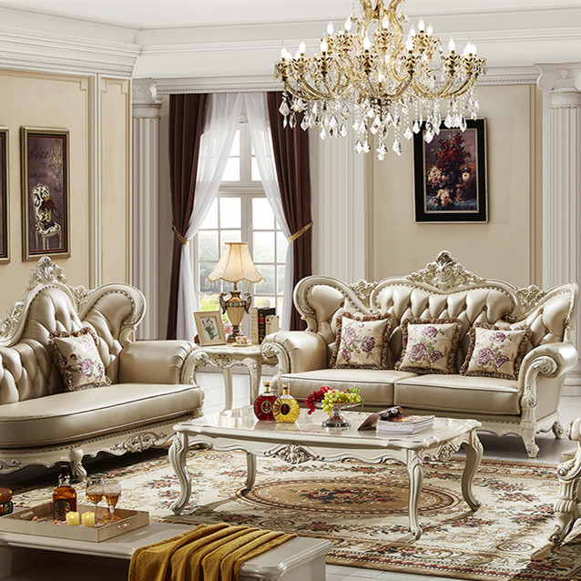 White Luxurious European Classical Style Solid Wood Living Room Furniture Sets Sofa Sets And Coffee Table Buy Sofa Living Room Furniture Sets Sofa Sets And Coffee Table Luxurious European Classical Style Solid Wood