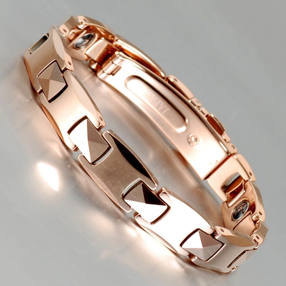 Титановое ожерелье из германиевого аниона от производителя Inox, полезное для здоровья