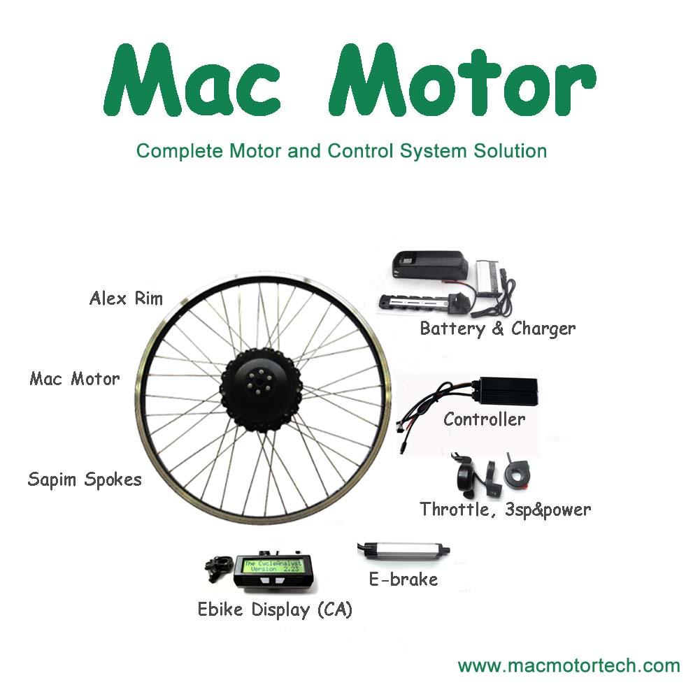 Внутренний планетарный редуктор Mac 5:1, электродвигатель