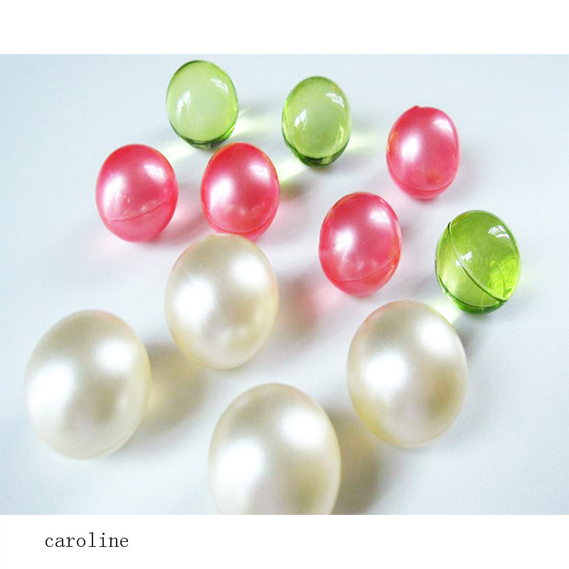 hot sale shower Round plant essential oil pearl beads bath beads