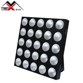 Party disco 25pcs 10W 3in1 RGB mixing color led panel matrix stage light