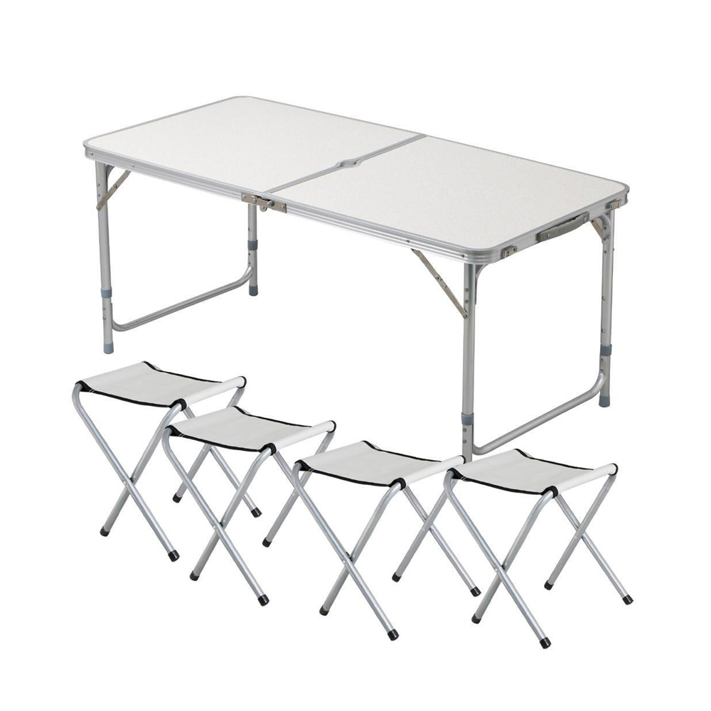 Tianye Outdoor Height Adjustable Folding Table With 4 Folding Chairs Portable Camping Picnic Party Dining Table Buy Lightweight Portable Table Portable Folding Aluminum Table Camping Picnic Table Product On Alibaba Com