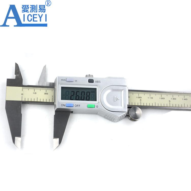 Wholesaler 0 300mm 12 Inch Electronic Digital Vernier Caliper Gauge Manufacturer Buy 300mm Vernier Caliper Digital Vernier Caliper Electronic Stainless Steel Caliper Product On Alibaba Com