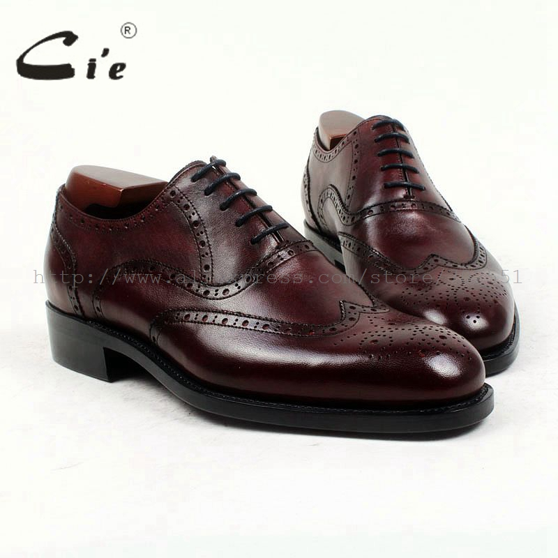 Goodyear Welted Full Grain Leather Shoes