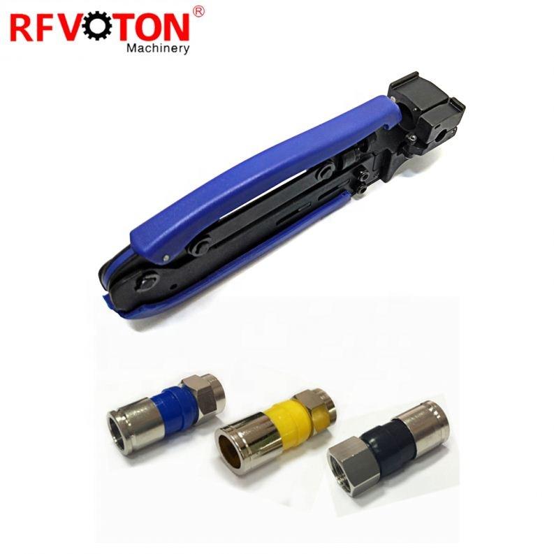 Коаксиальный кабель RG6 RG58 RG59 RG11 коннектор F BNC RCA компрессионные плоскогубцы