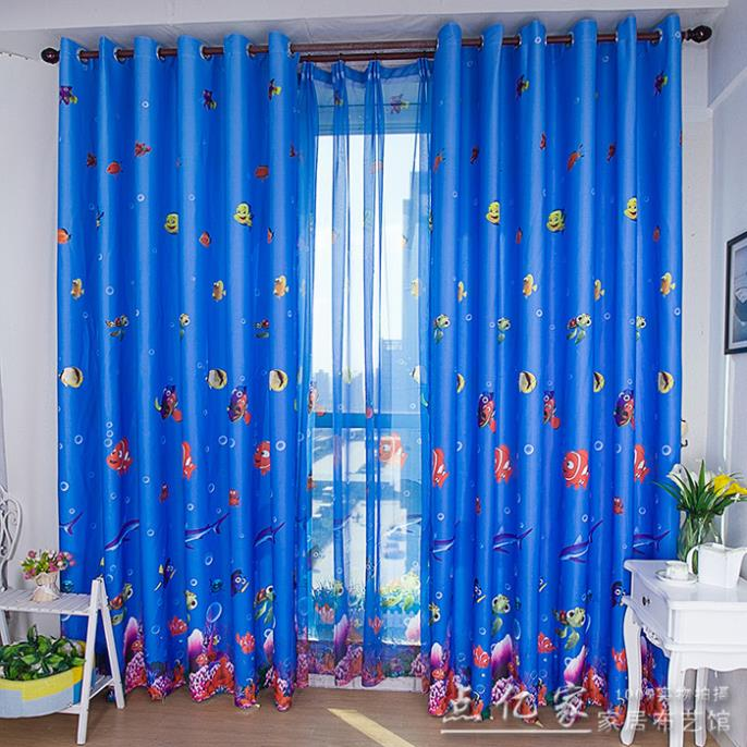 Girly Bedroom Items: Home Decor Children's Blackout Curtains Environmental
