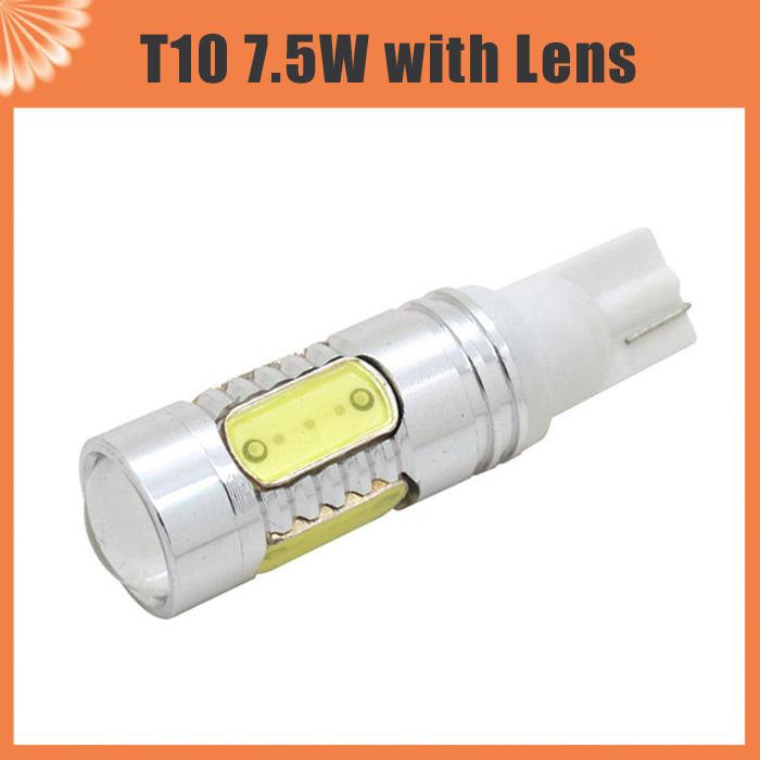 Автоматический автомобиль лёгкие T10 7,5 w Cob из светодиодов ксенон клин лампа 194 168 192 W5W лампа интерьер упаковка автомобиль для укладки освещение