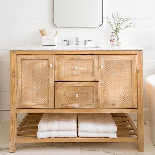 Light Wood Bath Cabinets With Cane Cabinet Doors Buy Light Wood Bath Cabinets Bath Cabinets Wood Bath Cabinets Product On Alibaba Com