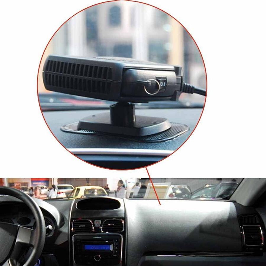 Новый портативный 12 В авто караван грузовиков тепловентилятор черный окно влагоуловитель стекол Deicer 200 Вт регулируемая