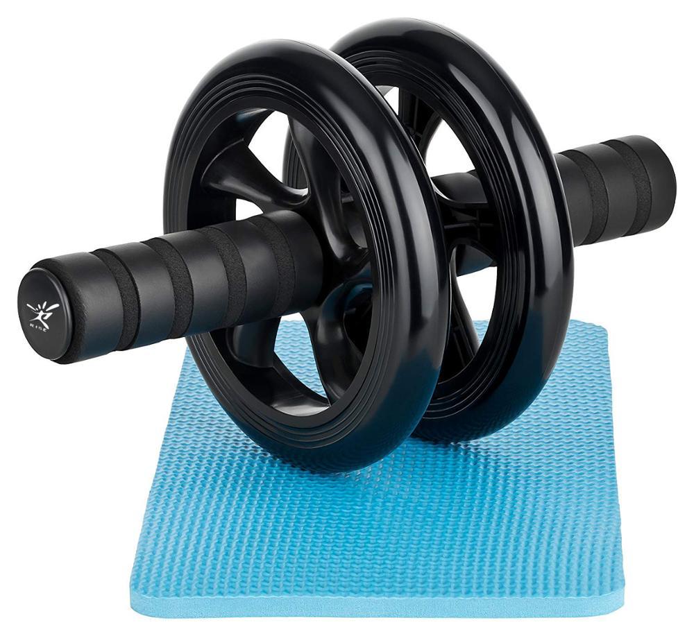 Pró Qualidade Ab Roda do rolo Com Soft Free Esteira de Rebaixamento-Home Gym Exercício Roda Com Alças De Espuma Grossa