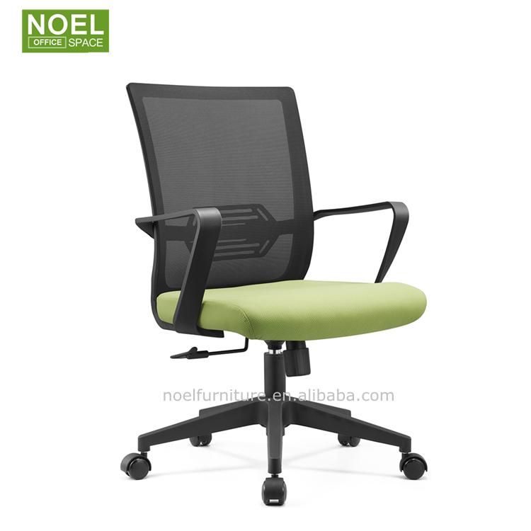 Оптовая продажа, сетчатый офисный удобный сетчатый стул, регулируемый вращающийся компьютерный стол, офисный стул