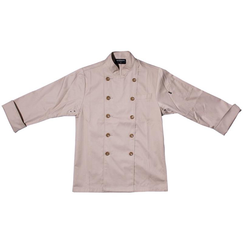 Long Sleeve Grey Colors Japanese Style Chef Coat Uniform