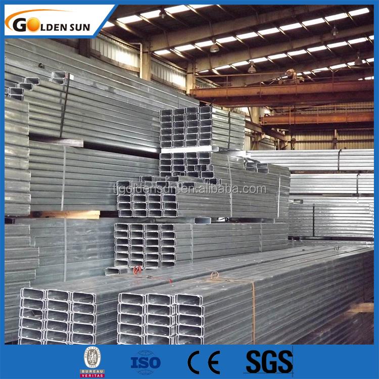 Galvanized z c u steel section steel z channel purlin