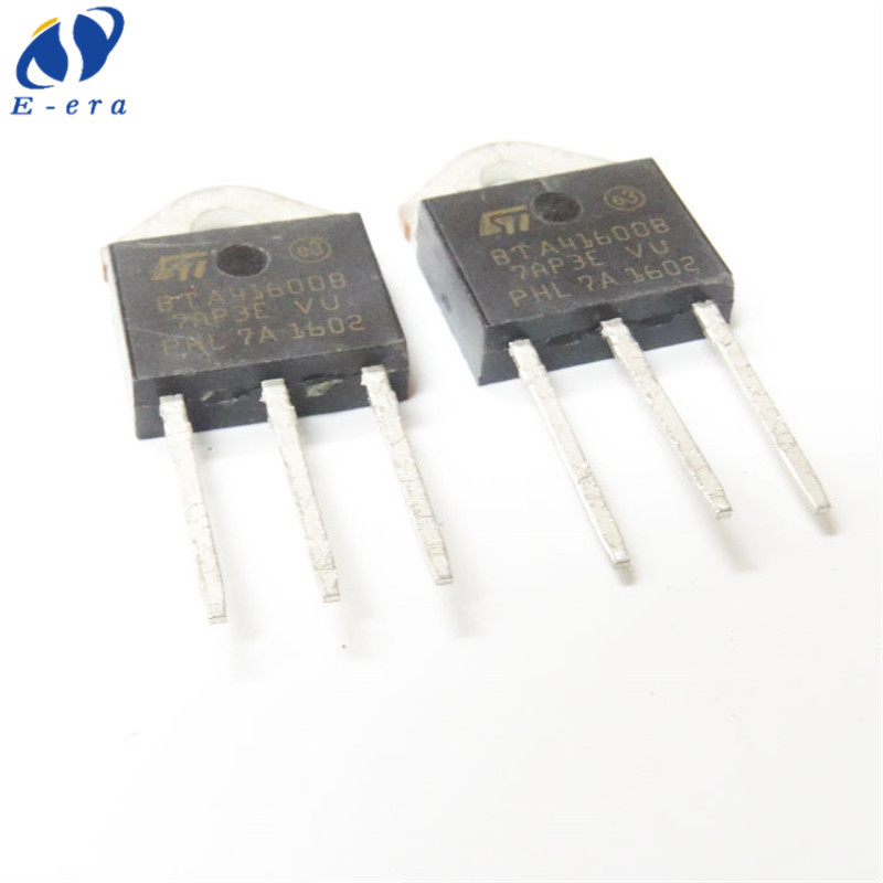 5x BTA41-600B Three Pole Triac SCR Bidirectional Controlled Silicon TO-3P 4W I1