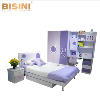 Bisini Boys computer desk, Kid's wooden bedroom furniture, Bisini furniture kids bedroom sets BF07-70261