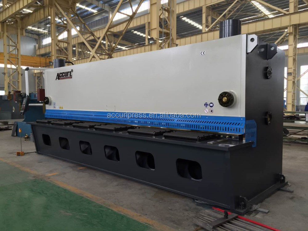 Accurl High quality AC/MS8-6X3200 guillotine cnc shearing machine for steel plate cutting
