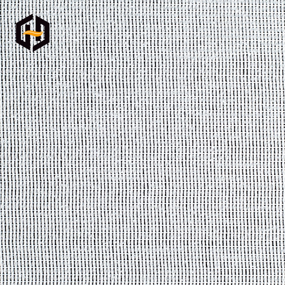 Large roll packing mesh woven grey fabrics backing material for wall cloth