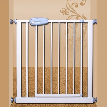 2018 new design steel material Safty Gate adjustable baby retractable safety gate