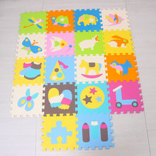 Mei qi cool baby play mat, игровые коврики для ползания животных, тренажерный зал, коврик с мультяшным рисунком, детский коврик для игр, игровой коврик ...(Китай)