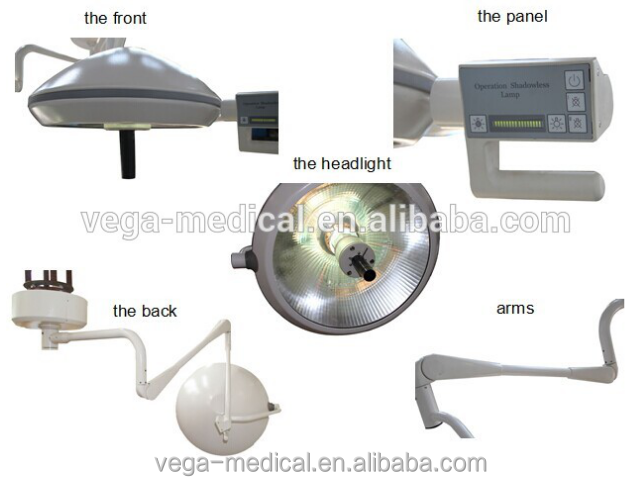 VG-700 operating room equipment halogen lamp used surgical lights