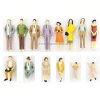 1:30 scale mini color plastic model human figures for building model and train model