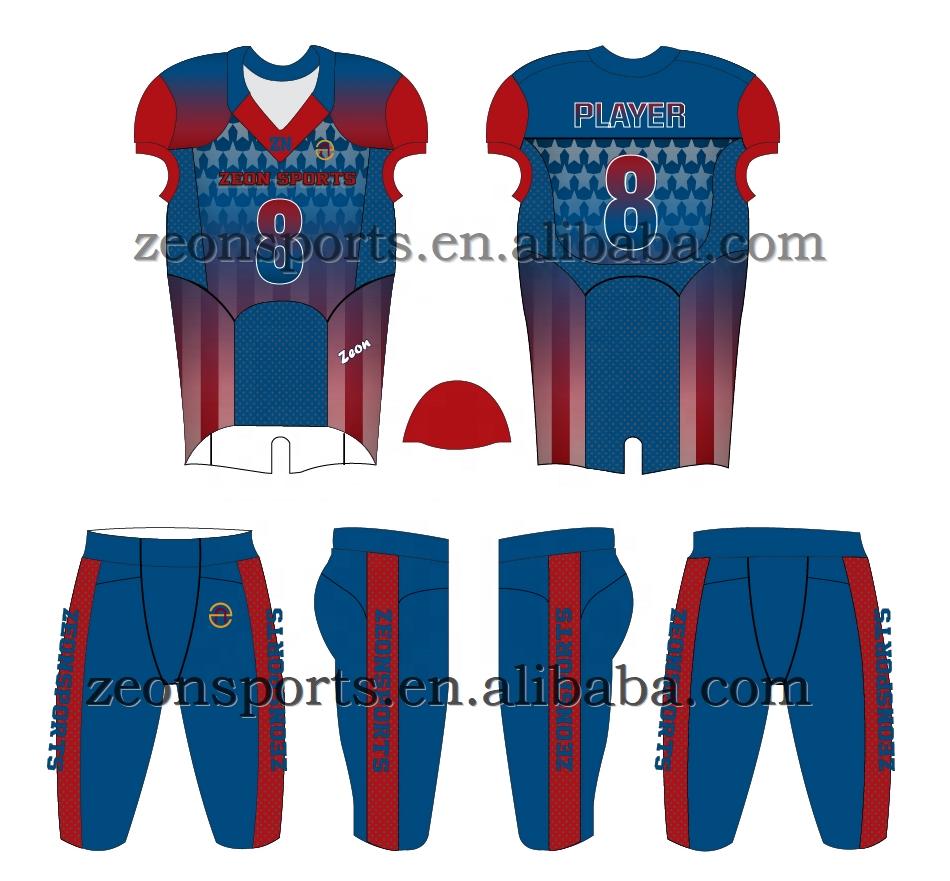 Полностью сублимационная футболка для американского футбола, футболка для футбольной команды