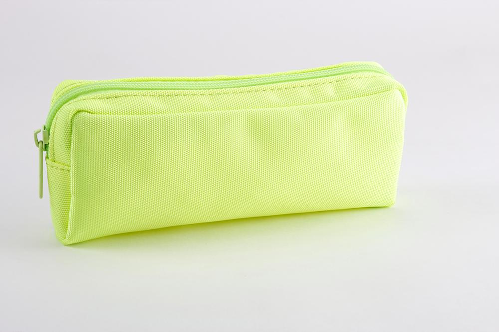 Low MOQ factory wholesale polyester pen pouch cute pencil case with custom logo
