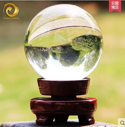 Diameter 8cm Rare Clear Natural quartz crystal ball Sphere ...Quartz Crystal Spheres For Sale