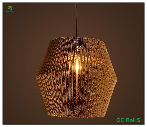 Китайский поставщик, современный подвесной бумажный светильник для украшения дома