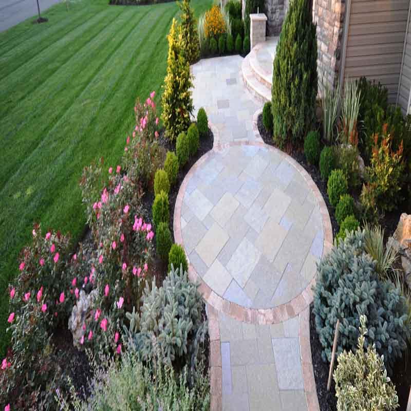 Высококачественный камень для мощения, украшение сада