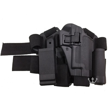 Airsoft Tactical CQC Right Hand Drop Leg Thigh Pistol Holster for P226