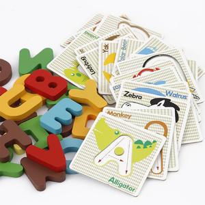 Hot sale creative wooden puzzle children educational math toys