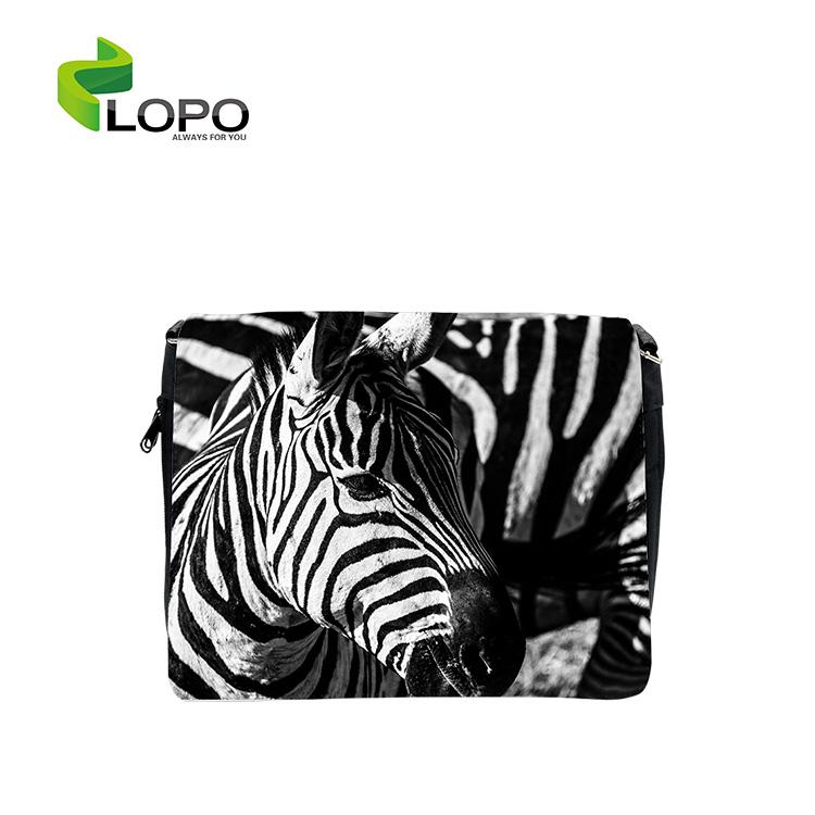 Personalized Sling Bag Single Sublimation Blanks Shoulder Bag Unisex Stylish Satin-twill 5330011 CN;GUA Black