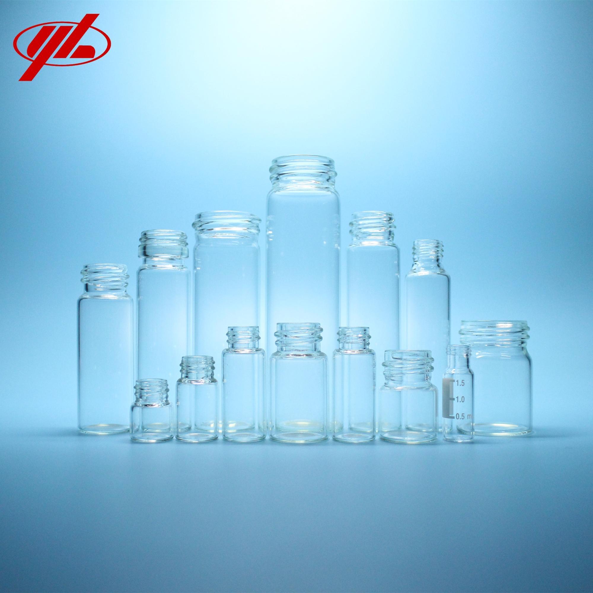Винтовая верхняя стеклянная бутылка