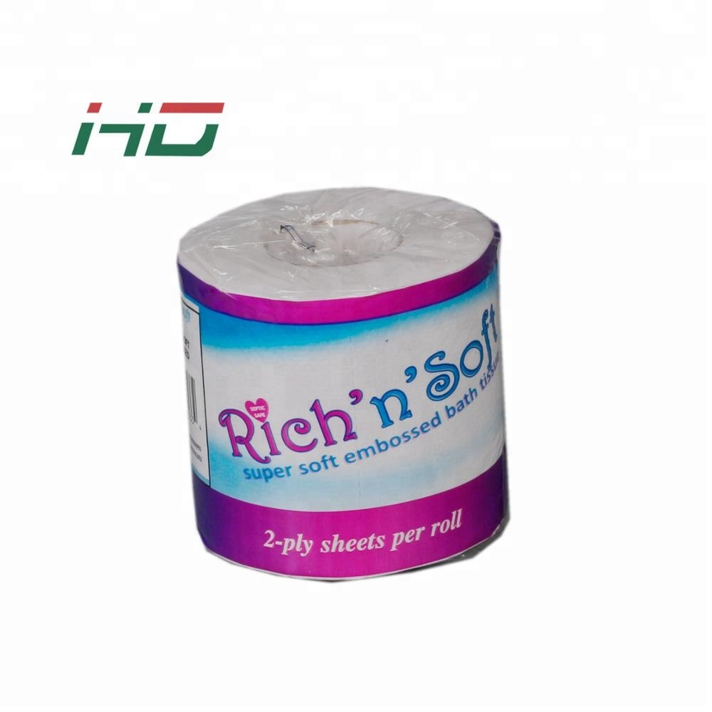 recycled printed private label cheapprice factory price bathroom toilet tissue paper