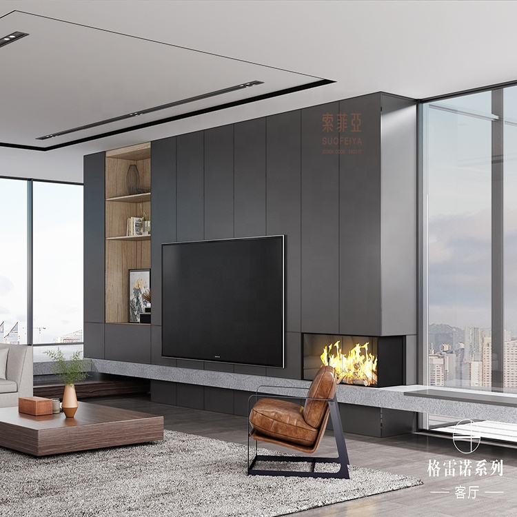 Luxury Modern Design Flat Tv Wall Units Wooden Tv Cabinet Designs Buy Home Usage Tv Cabinet Tv Lcd Wooden Cabinet Designs Tv Cabinet Design In Living Room Product On Alibaba Com