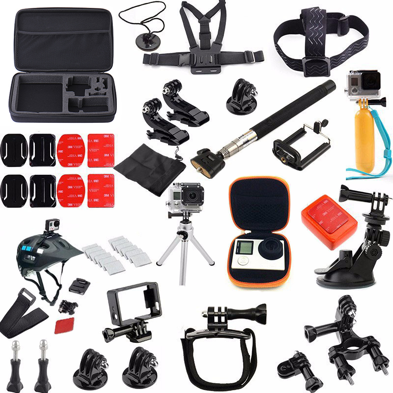36 In 1 Family Kit Go Pro Accessories Set GoPro Accessories Package For GoPro