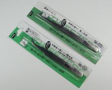 Nail tools supplies false nail stickers diamond paste diamond drill nail take elbow straight head tweezers