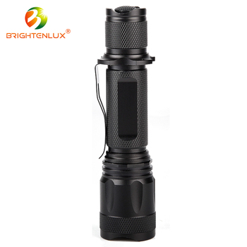 Best cheap aluminum alloy zoom usb rechargeable flashlight led torch light