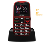 3G old man senior phone with camera supports GPRS positioning, SOS, cradle charger