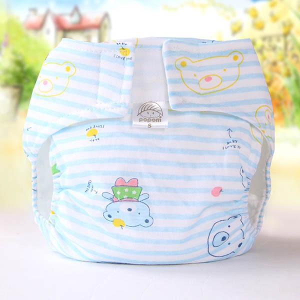 Hot Reusable Infant Nappy Cloth Diapers Soft Washable Covers Inserts Covers For
