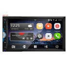 Double Din Car Optional Universal Double Din 7in Car Player Without DVD Loader-butter Version