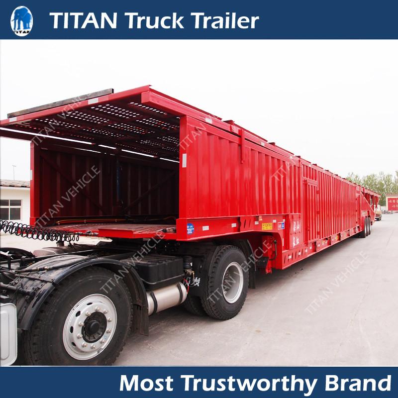 Car Hauler Trailer Enclosed Box Van Vehicle Transport
