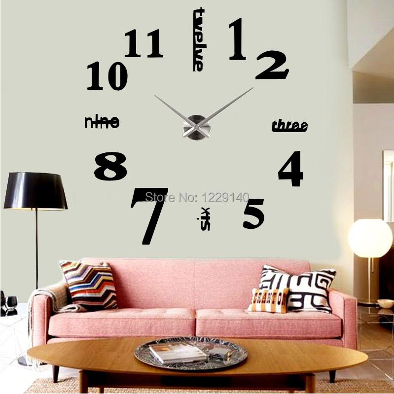 grosse horloge murale design fabulous horloge murale. Black Bedroom Furniture Sets. Home Design Ideas