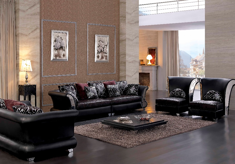 Italian Leather Living Room Sets - Modern House
