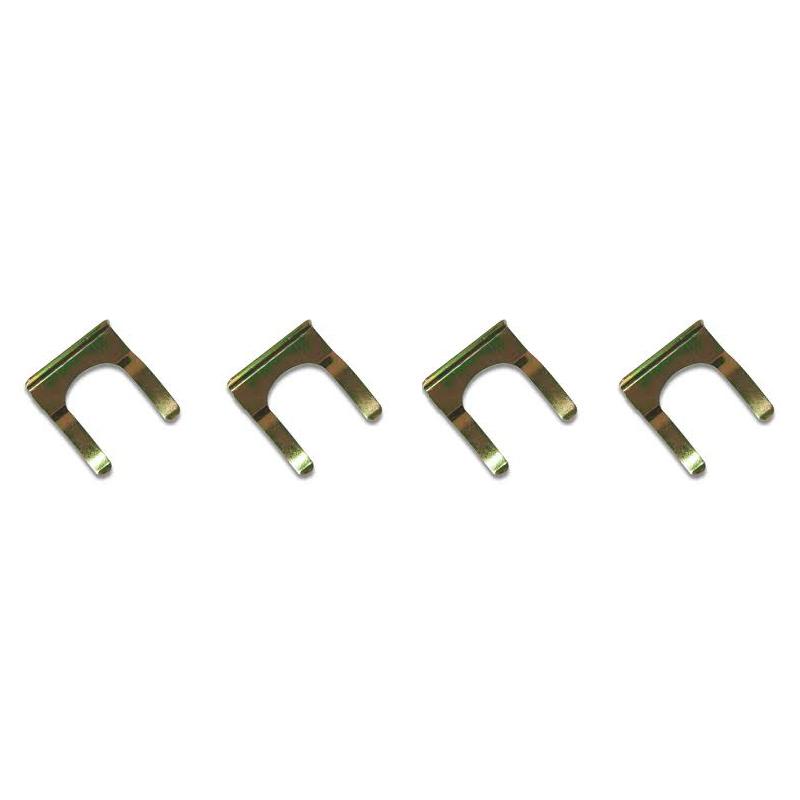 Manufacturer custom tube closed U shape metal spring clip fastenings