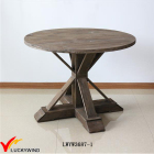 Antique Table Antique Wooden Round Tables Pedestal Antique Sturdy Solid Wood Round Dining Table