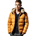 Fashion New 2016 Spring Winter Jacket Men Brand Down Cotton Man Clothes Outdoor Warm Casual Thick